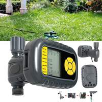 Programmable Irrigation Timer Watering Automatic Controller Single Outlet For Garden Faucet Hose
