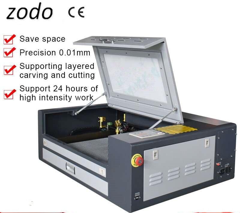 4060 Ruida 400 X 600mm Co2 Laser Engraving Machine For Woodcut Gourd Bamboo