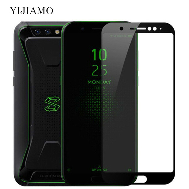Full Cover Protective Film Tempered Glass For Xiaomi Black Shark Glass 3D Screen Protector For Xiaomi Black Shark Game Phone 9H