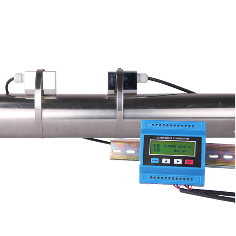 TUF-2000M TS-2 (DN15 ~ DN100mm) TM-1 (DN50 ~ DN700mm) TL-1 (DN300 ~ DN6000mm) ultrasonic Flow/Módulo Flow Meter Medidor de Vazão
