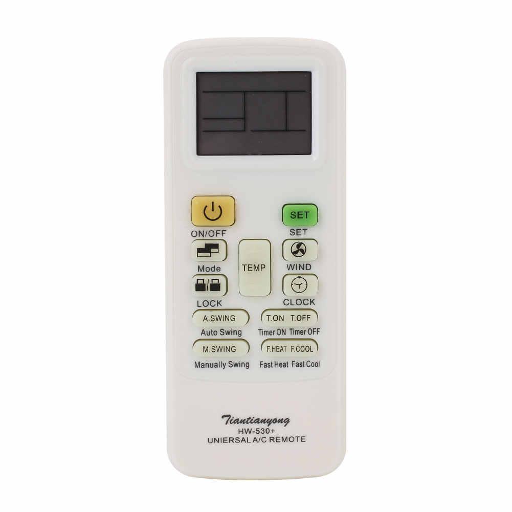 Универсальный A/C дистанционный пульт с lcd для кондиционера низкая Мощность Потребление дистанционного Управление;