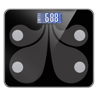 Bluetooth Digital Bathroom Smart Scale Body Weight Visceral Bmi Muscle Mass