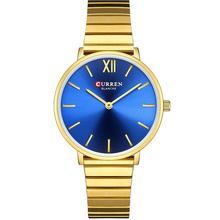 CURREN Luxury Women Watches Rose Gold Analogue Quartz Wrist Watch Female Clock Ladies Stainless Steel Watch Relogios Feminino цена и фото