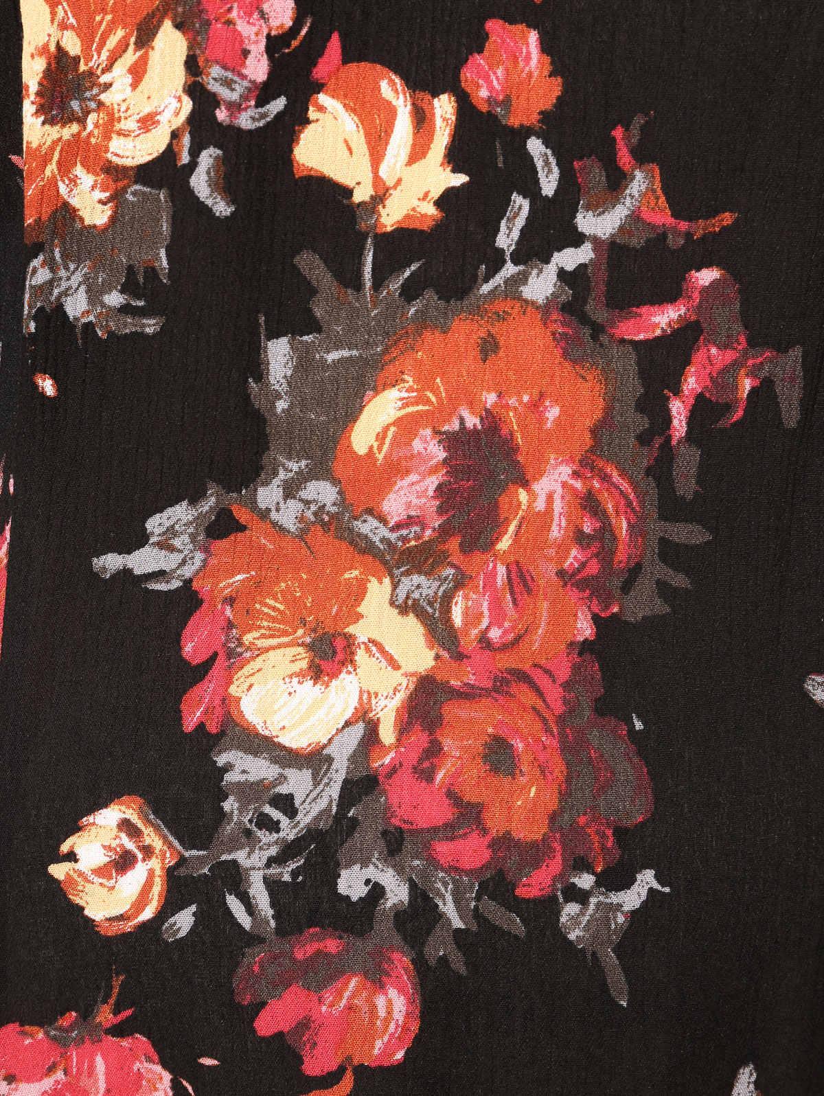 Wisalo/платье с цветочным принтом и кружевной отделкой; ассиметричное миди с открытыми плечами; платья-клеш; Vestidos; летнее модное женское платье; большие размеры