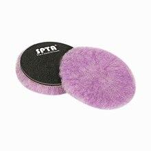 1PC 6 Inch Lambs Woollen Polishing Buffing Pad Polisher Pads For Car Detailing Waxing Buffer