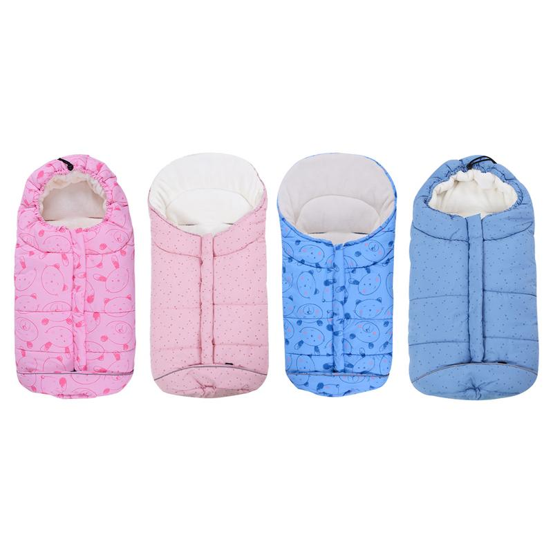 Autumn Winter Warm Baby Sleeping Bag Sleepsack Baby's Blanket Multi functional Trolley Warm Windproof Sleeping Bags