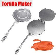 2 цвета тортилья чайник сковорода тяжелый Ресторан промышленный алюминиевый Tortilla приспособление для приготовления пирогов пресс-инструмент Бытовая техника Часть