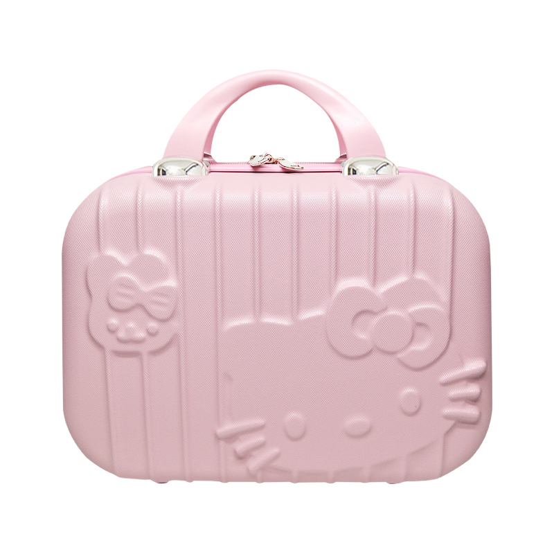 c9bf929a81e9 Detail Feedback Questions about Cartoon Hello Kitty Cosmetic Bag Makeup Box  Zipper Beauty Wash Case Portable Lady Toiletry Suitcase Travel Organizer ...