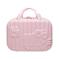 Cartoon Hello Kitty Cosmetic Bag Makeup Box Zipper Beauty Wash Case Portable Lady Toiletry Suitcase Travel Organizer Accessories