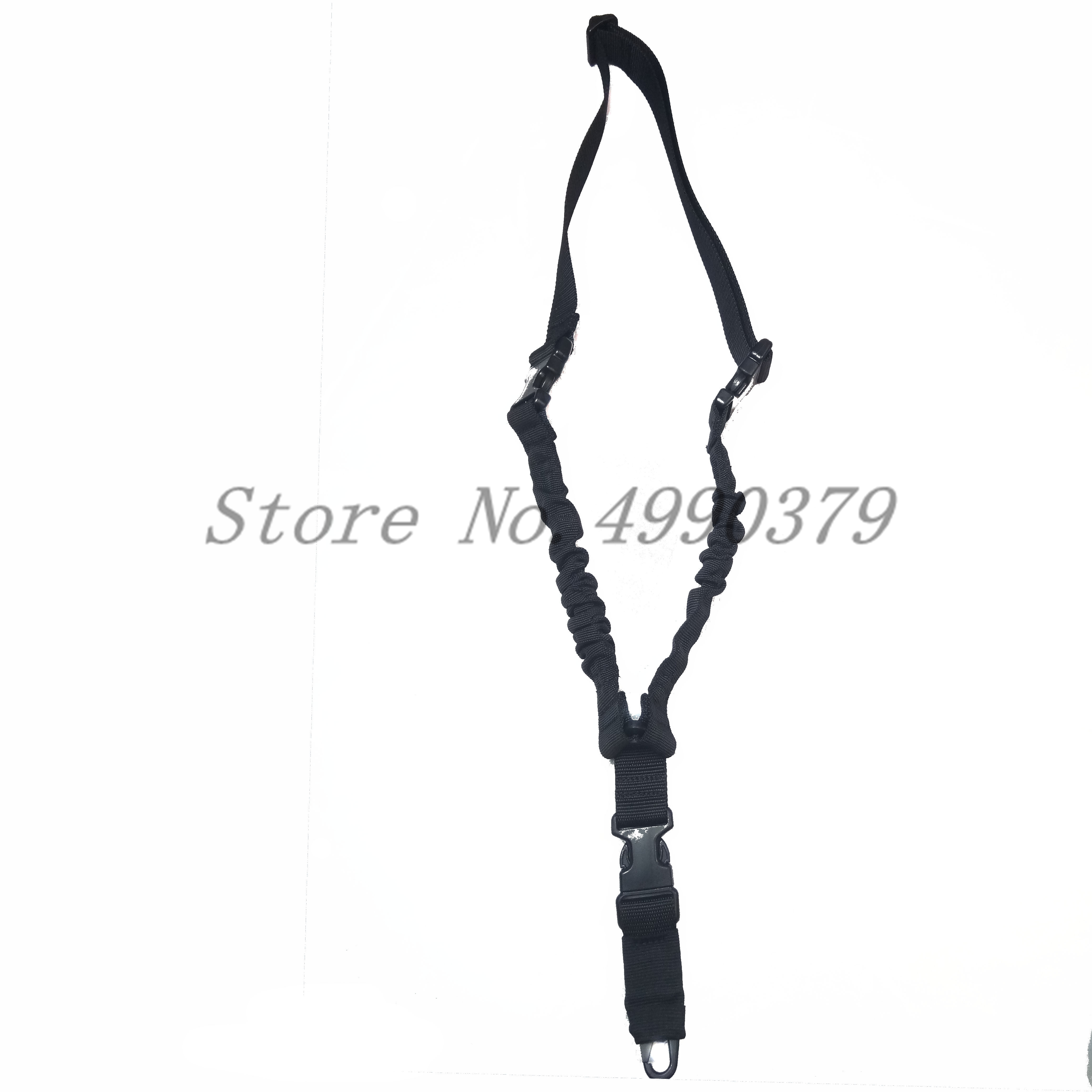 Image 4 - Tactical One PoiRifle Gun Sling Strap System Hunting Adjustable Nylon Single Point Rifle Strap Free Shipping-in Hunting Gun Accessories from Sports & Entertainment