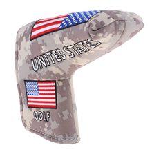 Multi-function USA Flag Blade Putter Head Cover Headcovers Protect Your Beloved Golf Clubs - Durable Golf Accessories