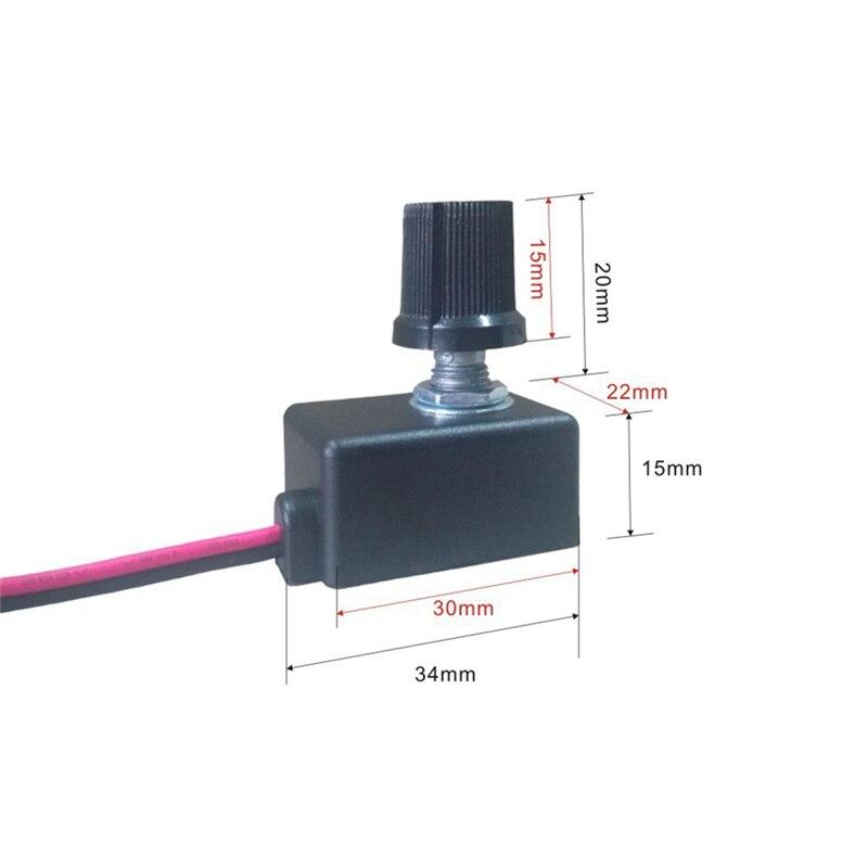 CLAITE DC0/1-10V 40mA Dimmer Light Switch LED Driver For Lighting Product National Standards