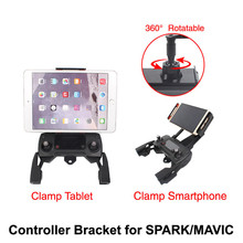 360 Rotate DJI MAVIC PRO/ MAVIC AIR / SPARK Remote Controller Bracket Holder for iPhone8/7 plus/6/6s/4S Samsung for Tablet iPad