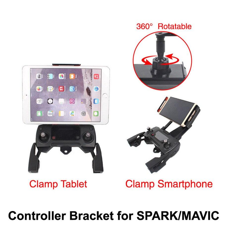 360 Ruota DJI MAVIC PRO/MAVIC ARIA/SPARK Regolatore A Distanza Del Supporto Della Staffa per iPhone8/7 plus/ 6/6 s/4 s Samsung per Tablet iPad360 Ruota DJI MAVIC PRO/MAVIC ARIA/SPARK Regolatore A Distanza Del Supporto Della Staffa per iPhone8/7 plus/ 6/6 s/4 s Samsung per Tablet iPad