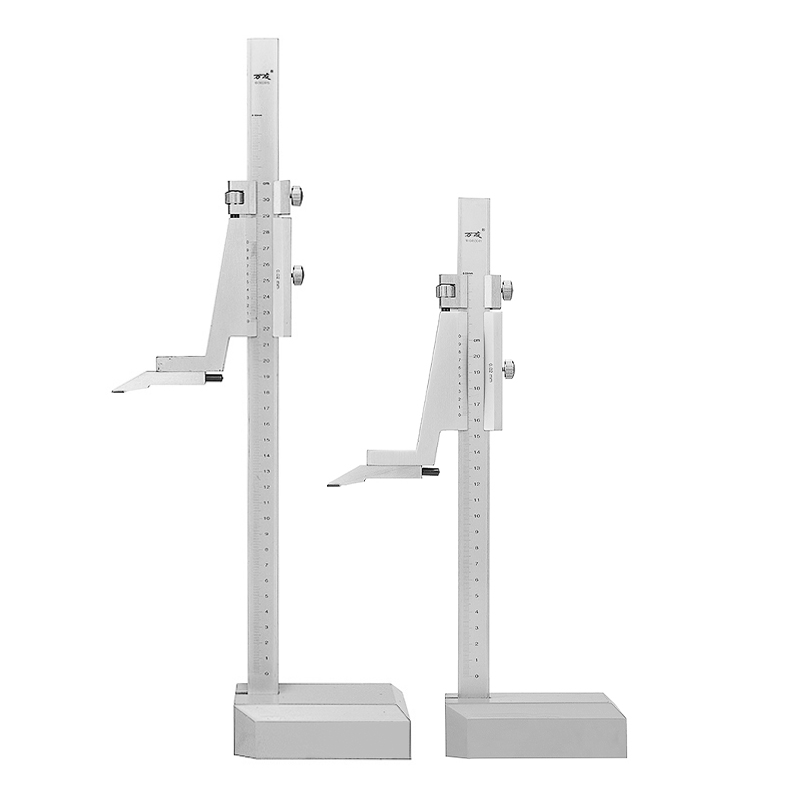 0-200mm / 0-300mm Range Steel Vernier Height Gauge with Stand Measure Ruler Tools High Accuracy Carbon Steel Tipped Scriber