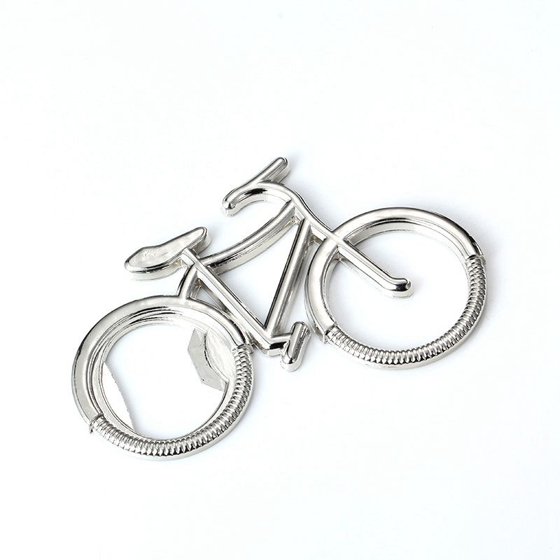 2 Pieces, Silver, Bicycle Bottle Opener