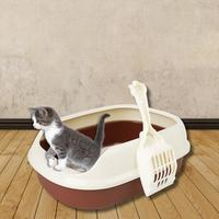 2019-new-crack-proof-bottom-polyester-cat-litter-box-small-size-shatter-resistant-anti-breaking-cat-toilet