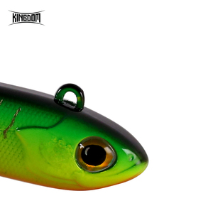 Image 5 - Kingdom 2019 New VIB Fishing Lures High Quality 45mm/10g 54mm/15g Artificial Baits Two types of Actions Wobblers Fishing Tackle