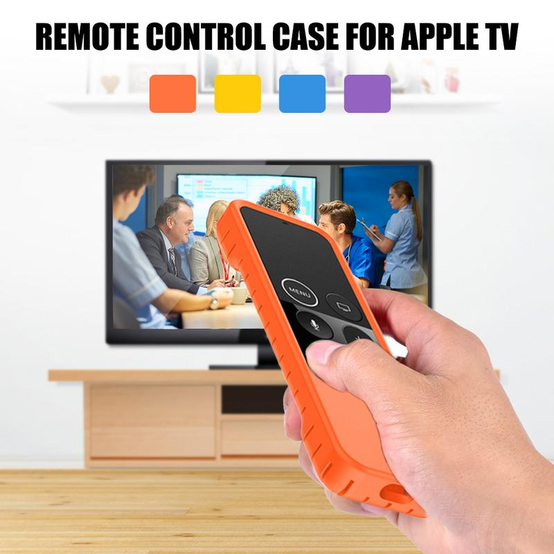 Image 5 - Silicone Smooth Remote Control Waterproof Anti fall Protective Case Colorful Dust proof Non slip Protector Cover For Apple TV-in Screen Protectors from Consumer Electronics