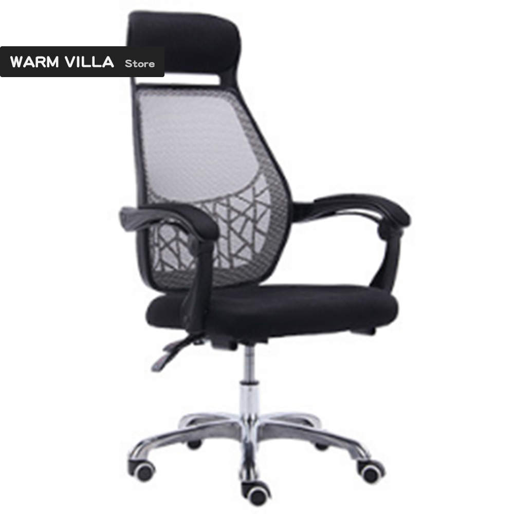 European Quality Household To Work In An Office Student Lift Swivel Ergonomic Lay Net Cloth Staff Member Chair