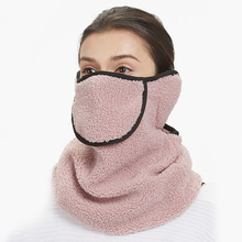 Lovers Plush Winter Face Mouth Mask Men Women Warm Ear Neck Collar Face Mask Breathable Outdoor Cycling Ski Hiking Sport Masks