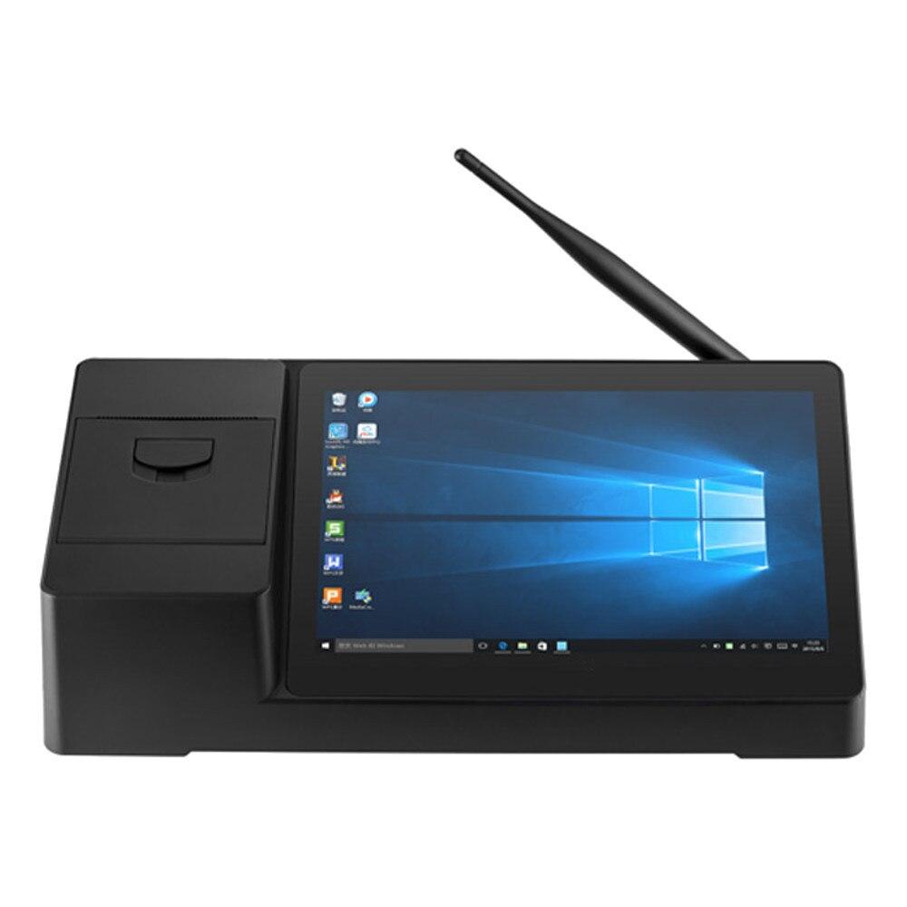 PIPO X3 32 GB Intel Z8350 Quad Core 8.9 pouces Windows 10 TV Box POS imprimante thermique de réception