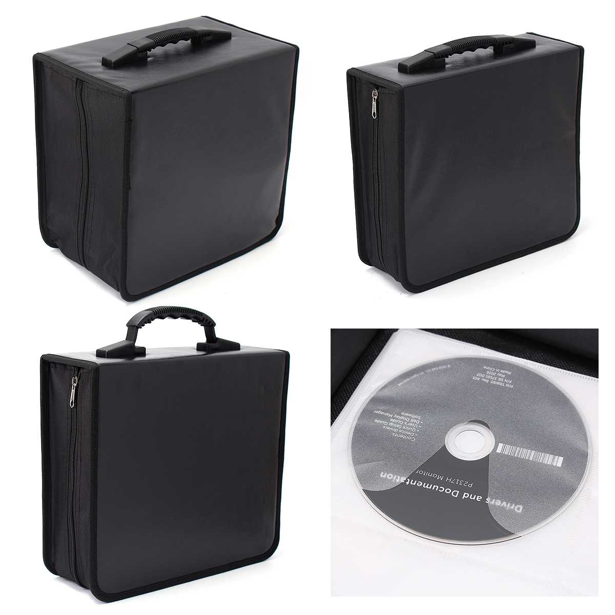US $17 92 32% OFF 240/400/520 Disc CD DVD Portable Storage World Map  Printed Holder Carry Durable Wallet Bag Wallet DJ Album Collect Storage-in  CD