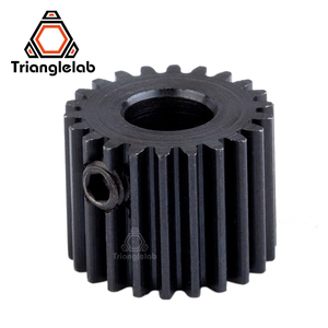 Image 3 - Trianglelab Stainless steel Precision milled hobb Titan Gear& motor gear 1SET GEAR KIT for 3d printer reprap Titan Extruder