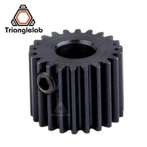 Image 3 - Trianglelab edelstahl Präzision gefräst hobb Titan Getriebe & motor getriebe 1SET GETRIEBE KIT für 3d drucker reprap titan Extruder