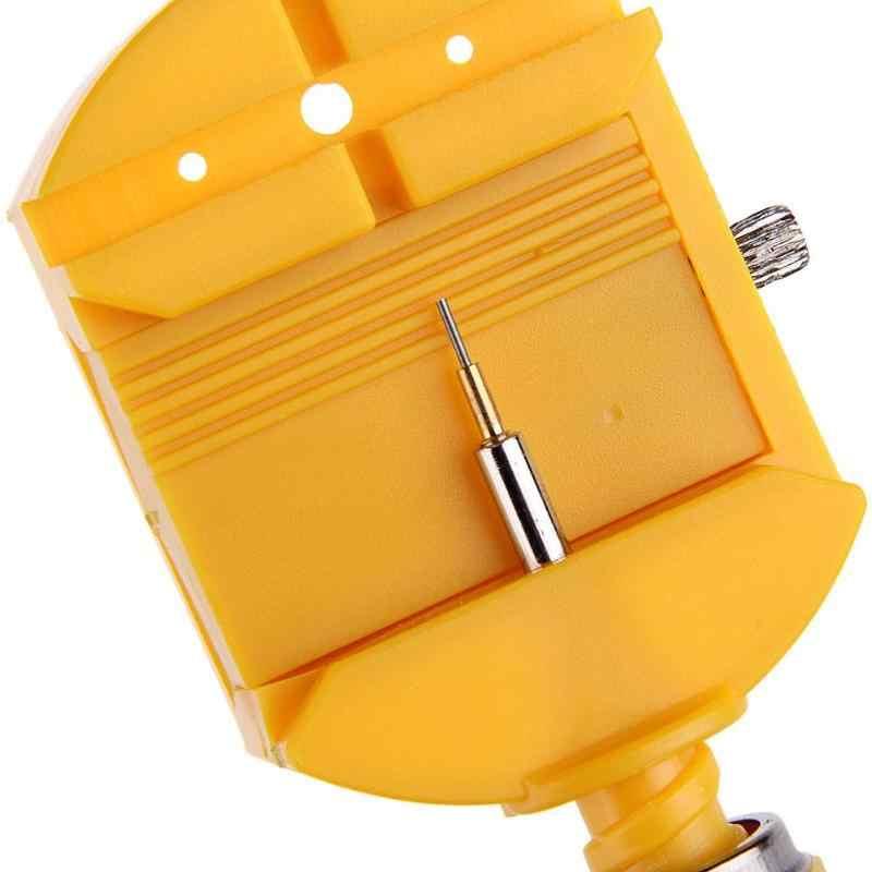 Juego de herramientas de reparación de reloj ajustador para reloj de pulsera con correa de hendidura
