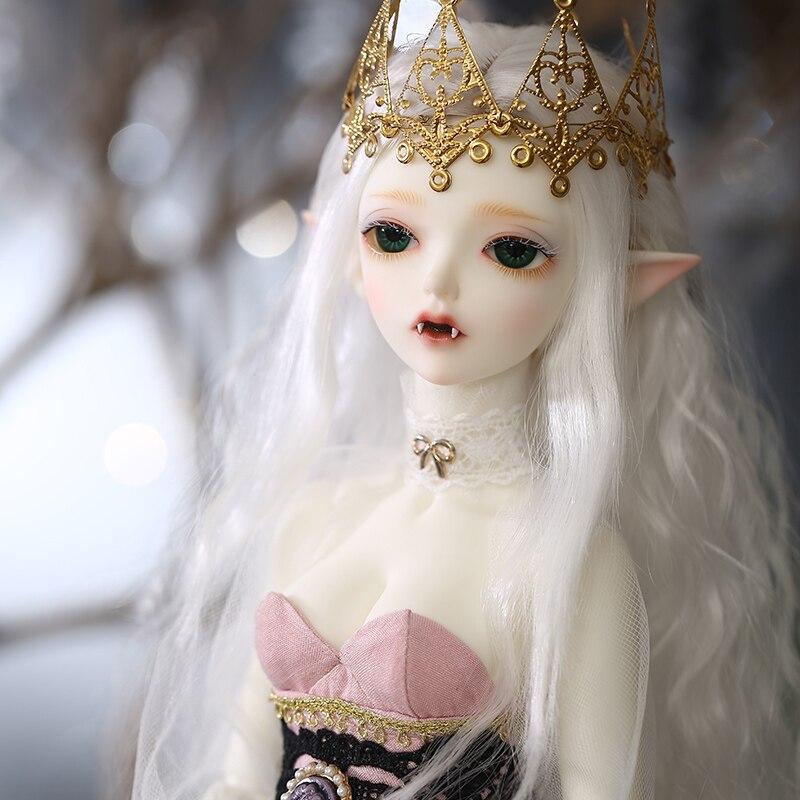 구체관절 인형새로운 도착 bjd 인형 1/4 Minifee hwayu 인형 소녀를위한 고품질 실리콘 수지 장난감 생일 최고의 선물 fairyland-에서인형부터 완구 & 취미 의  그룹 2
