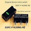 4 шт./упак. оригинальный Omron D2FC-F-K(50 м)-RZ мышь микропереключатель кнопки мыши зеленая точка более 50 миллионов нажмите срок службы