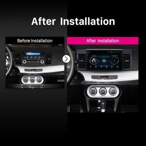 Image 5 - Seicane راديو السيارة 10.1 بوصة ، Android 9.1 ، Bluetooth ، Wifi ، 3G ، مشغل الوسائط المتعددة ، 2 Din ، لميتسوبيشي لانسر ex 2008 ، 2009 ، 2010 2015