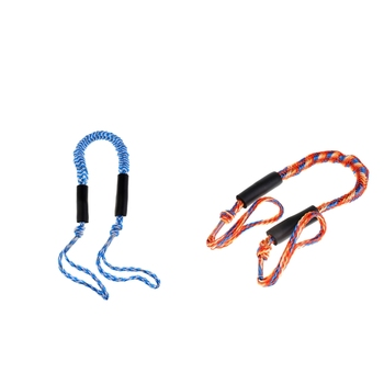 2pcs 3.5 Ft Bungee Cord Rope Dock Lines Shock Cord Boat Docking