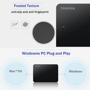 Image 5 - TOSHIBA disque dur externe HDD 3.0 pouces, Canvio Basics 2.5, dispositif de stockage Portable, USB 3.0 SATA3, avec capacité de 1 to, 2 to