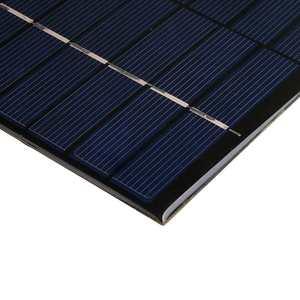 Image 5 - CALTIE 12V 5.2W 165*210 مللي متر مصغرة ألواح شمسية متعدد الكريستالات/ البلورات الايبوكسي مجلس DIY الايبوكسي الكريستالات الخلايا للالهاتف المحمول