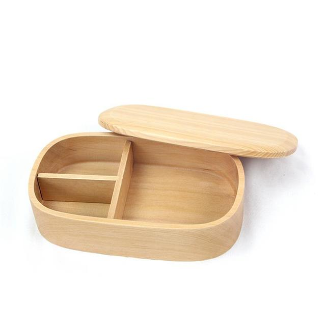 Eco-friendly Wooden Student Lunch Box