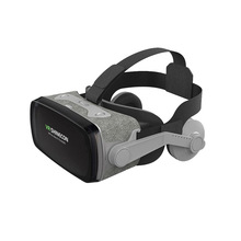 SHINECON Casque 9.0 VR Virtual Reality Goggles 3D Glasses Google Cardboard VR Headset Box For 4.0-6.3 Inch Smartphone vr shinecon google cardboard pro version 3d vr virtual reality 3d glasses smart vr headset