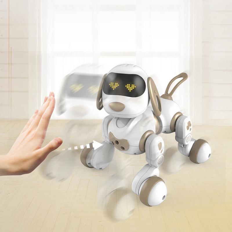 Télécommande Robot Électronique Animaux Chien Jouet Interactif Chiot Robot Intelligent Jouets pour Enfants - 5