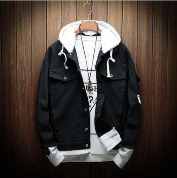 Autumn Hooded Denim Jacket  3