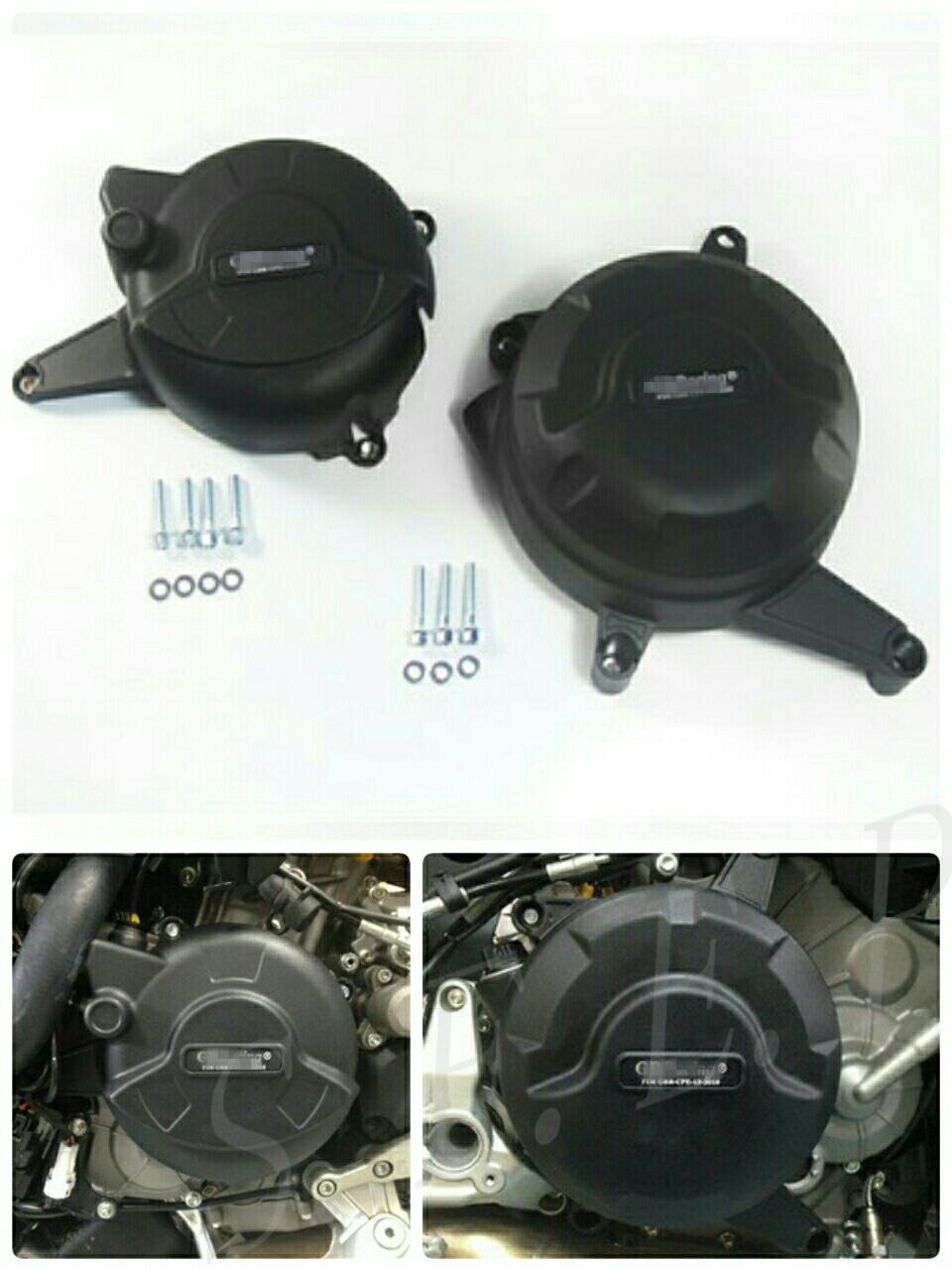 Housse de protection pour moteur moto GB Racing pour Ducati 899 Panigale 2014-2015 noir