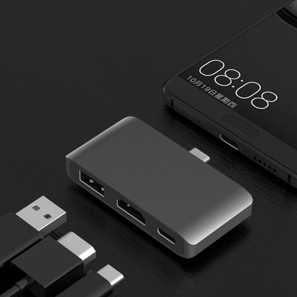 Top Deals USB C Hub to HDMI 4K Dex Mode for Samsung Galaxy S8/S9 Nintend with PD USB 3.0 Hub Thunderbolt USB-C Dock for Macbook