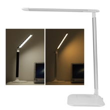 цена на LED Desk Eye Protection Lamp Folding Brightness Adjustable Dimmable Touch Sensor LED Table Light Desk Reading Lamp For Reading