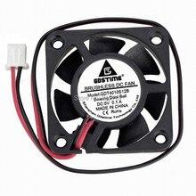 5 шт. Gdstime 40 мм 4010 5 в шарикоподшипник 2Pin Вентилятор охлаждения постоянного тока чехол для компьютера кулер 40x40x10 мм