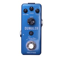 Rowin LEF 315 Analog Dumbler Guitar Effect Pedal,Provide You With Sound Ranging From A Tasty Light Overdrive To A Juicy Medium