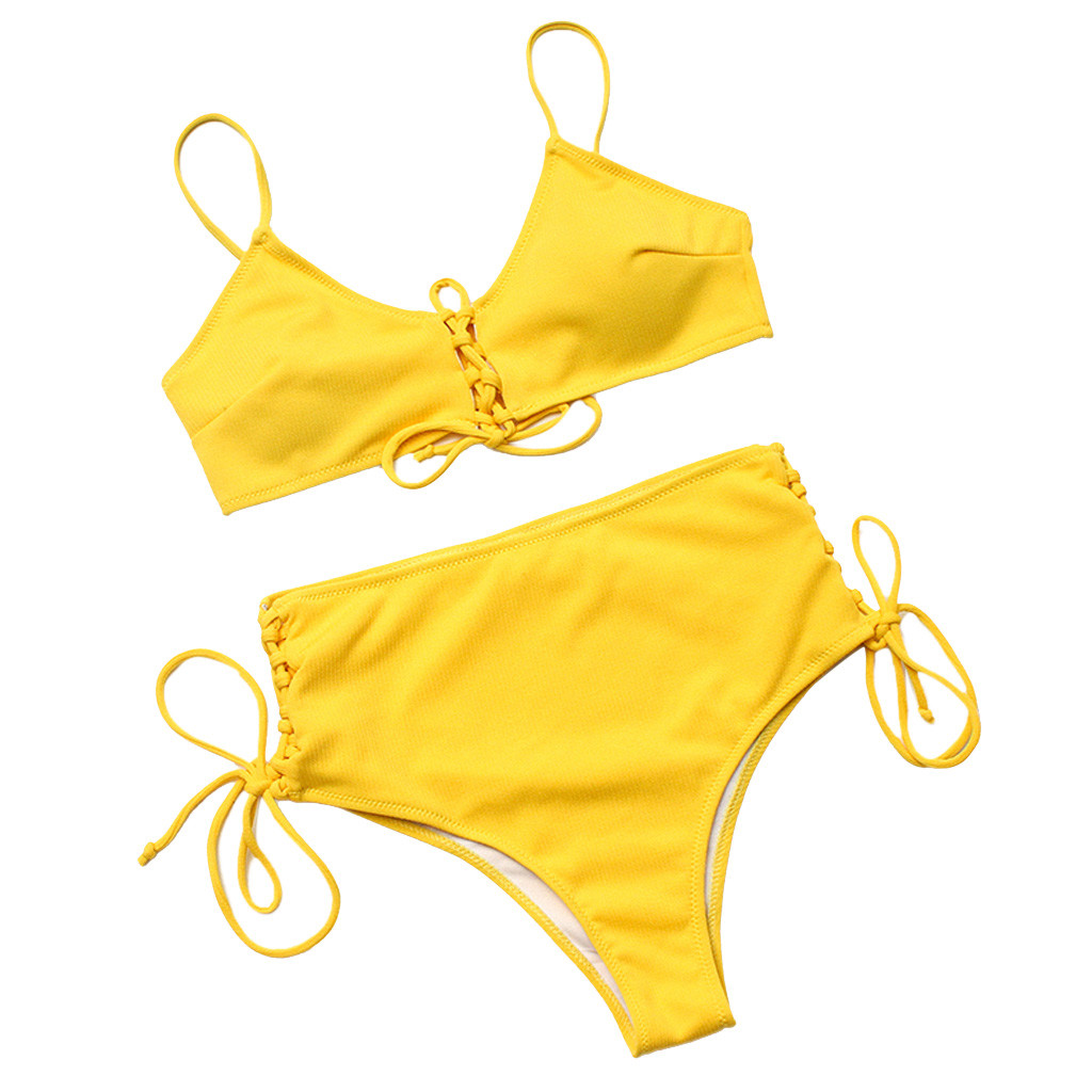 Swimsuit Female Swimwear Womens Bikini 2019 Woman Swimsuit Swimming Suit For Women Swimwear High Waist Thong Bikini Suit
