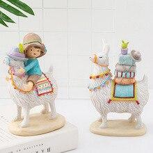 Fairy Garden Resin Home Decoration Accessories Girl Ornament
