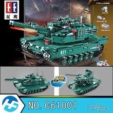 M1A2 Abrams основной боевой танк дистанционное управление здания Конструкторы кирпичи Совместимость legoinset техника серии Cada C61001