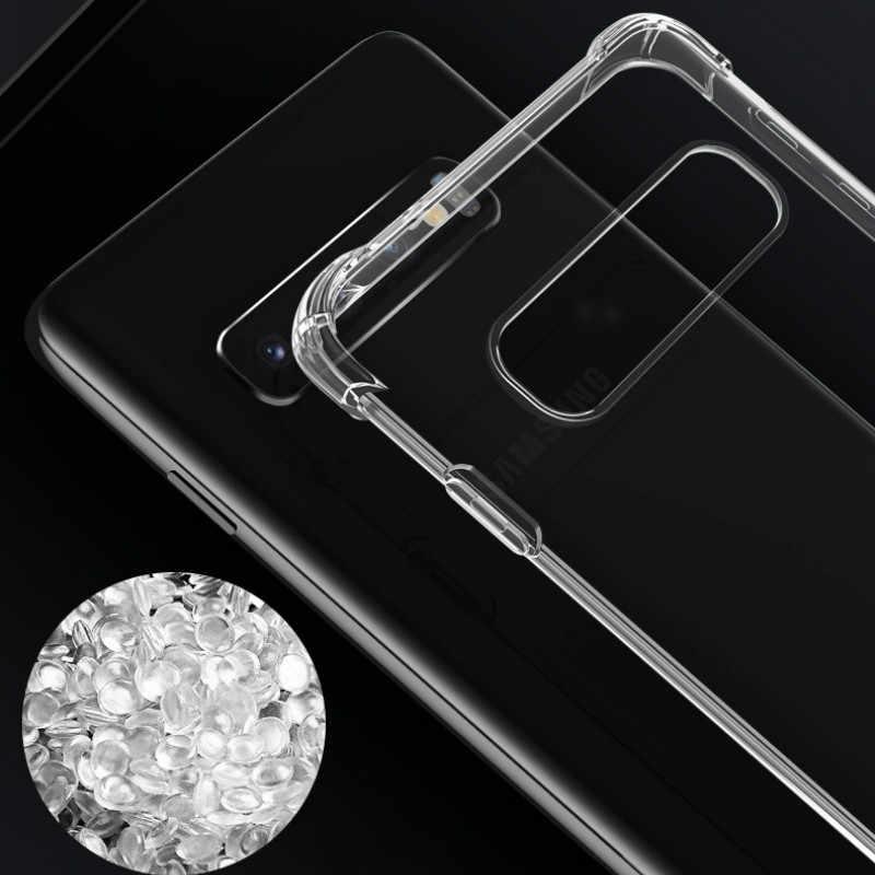 Case For Samsung A70 A60 A50 A40 A30 A20 A10 A2 CORE S10E Galaxy M20 M30 S10 S9 S8 A6 A8 Plus A7 A9 2018 Transparent Back Cover