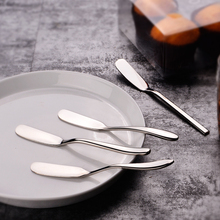 6pcs Nordic Stainless Steel Butter Knife Cutter Scraper Utensil Jam Spreader Spatula Breakfast Tool Cheese Grater Slicer